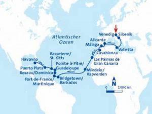 Kuba Kreuzfahrt 31 Tage