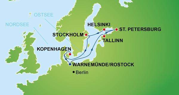 NCL und CRUUSOO Kreuzfahrten_Getaway_Baltic ab Warnemünde