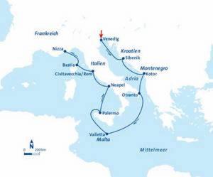 CRUUSOO-Kreuzfahrten_FTI_MS Berlin_Fruehling im Mittelmeer