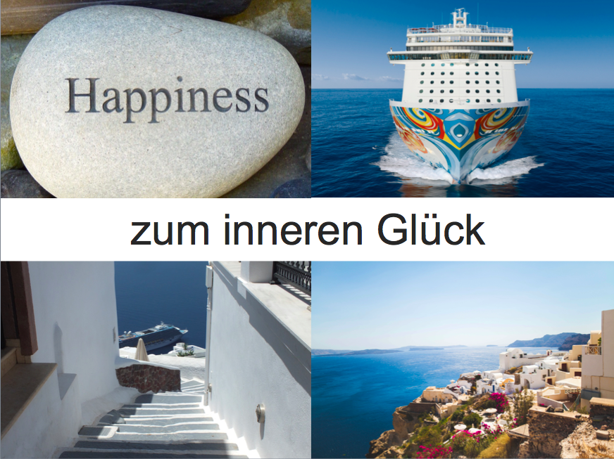 Kreuzfahrt zum inneren Glück